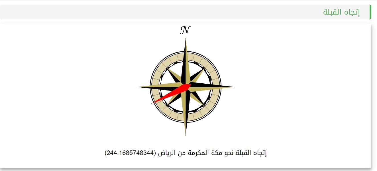موقع أوقات الاذان لعرض أوقات الصلاة Athanqebla